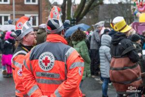 Die Hilfsorganisationen stellten auch in diesem Jahr die sanitätsdienstliche Versorgung sicher. (Foto: Carsten Pöhler)