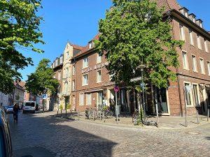 Im ehemaligen Hotel Überwasserhof vermietet das Bischöfliche Studierendenwerk ab Juli 2021 Studierenden-Appartements. (Foto: BSW)