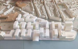 So soll das Stadtquartier im Stadthafen Nord aussehen. (Foto: Stadt Münster)