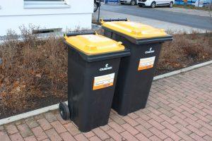 Keine Gelben Säcke mehr, dafür nur noch die Wertstofftonne. (Foto: Stadt Münster)