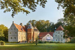 Schloss Senden ist einer der interessantesten Schätze auf dem Südkurs der 100 Schlösser Route. (Foto: Münsterland e.V. / Philipp Fölting)