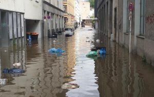 Das Hochwasser hat in vielen Orten seine Spuren hinterlassen, so wie hier in Wuppertal. (Foto: A. Reinshagen)