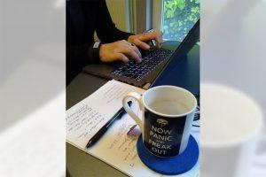 Den November aktiv als Schreibmonat nutzen: Für viele, die gerne schreiben möchten, ist der NaNoWriMo eine Gelegenheit, um sich auszuprobieren. (Foto: Dr. Eva-Maria Lerche)