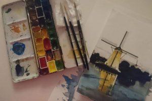 Zu sehen sind auch die Werke der Münsteraner Künstlerin Susanne Fedder. (Foto: Fedder)
