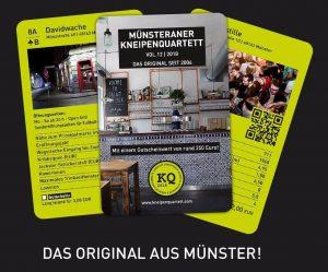 Das Kneipenquartett aus und über Münster. (Bild: Promo)