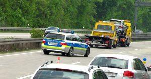 Laut der frisch vorgestellten Unfallstatistik sind auch auf den Autobahnen im Zuständigkeitsbereich der Polizei Münster die Unfallzahlen im vergangenen Jahr gesunken. (Symbolbild: Rainer Sturm / pixelio.de)