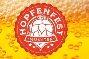 Das Hopfenfest kommt im Mai nach Münster. (Grafik: Promo)