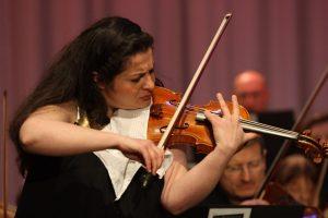 Die Solistin der Alten Philharmonie Münster Maia Shamugia. (Foto: Alte Philharmonie Münster)