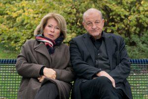 Ein neuer Fall für Anna Springer (Rita Russek) und Georg Wilsberg (Leonard Lansink). (Foto: ZDF / Thomas Kost)