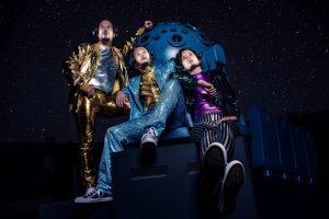 """Das Münsteraner Locationtheater """"Freuynde + Gaesdte"""" präsentiert im Planetarium im LWL-Museum für Naturkunde das Theaterstück """"Fräulein Becker"""". (Foto: LWL/Steinweg)"""