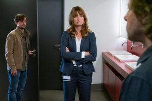 """Im neuen Wilsberg """"Überwachen und Belohnen"""" wird Schauspielerin Ina Paule Klink zum letzten Mal in ihrer Rolle als Alex Holtkamp zu sehen sein. (Foto: ZDF / Thomas Kost)"""