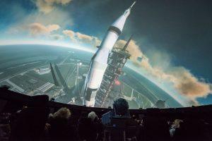50 Jahre Mondlandung: Der Wettlauf zum Mond, die verschiedenen Apollo-Missionen oder der Mond im Fernrohr stehen an diesem Abend unter anderem im Mittelpunkt der zahlreichen Vorträge. (Foto: LWL/Steinweg)