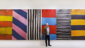Sean Scully vor Blue Note, 2016, Privatbesitz © Sean Scully. (Foto: LWL|Hanna Neander)