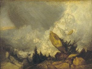 Joseph Mallord William Turner (1775-1851), The Fall of an Avalanche in the Grisons, c. 1810. (Foto: Tate)