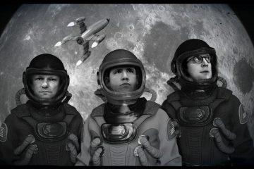Hörspielzuhörer begleiten die Crew der Liberty Eins auf ihm Weg zum Mond, bequem vom eigenem Zuhause aus (Foto: Theater ex libris)