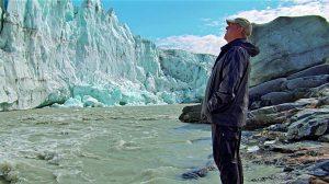 Al Gore recherchierte für den Film auch in Grönland. (Foto: Paramount Pictures)