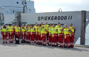 Ehrenamtliche des ASB auf Fortbildung auf Spiekeroog. (Foto: ASB)