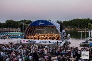 Die AaSeerenaden an den Aaseeterrassen feiern Jubiläum. (Foto: Stephan Günther)