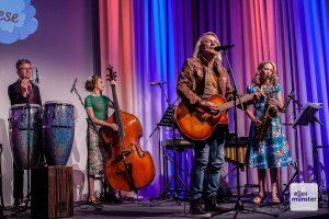 In dieser Besetzung bekamen die Rocksongs von Michael Voss ein jazziges Kleid. (Foto: Stephan Günther)