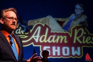 Im Mai wieder im Pumpenhaus: Die Adam Riese Show. (Foto: sg)
