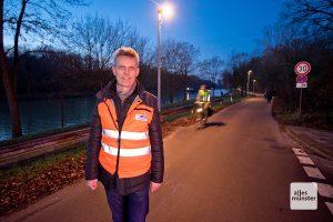 Alexander Buttgereit vom Amt für Mobilität und Tiefbau. (Foto: Michael Bührke)