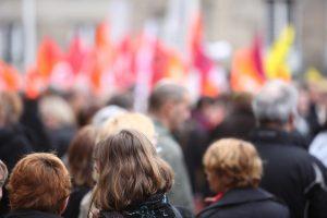 In Münster wurde, wie auch in anderen Städten in NRW, gestreikt. (Foto: iMAGINE/stock.adobe.com)