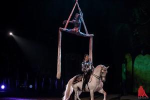 Das neue Apassionata-Programm hat auch Akrobatikelemente dabei. (Foto: sg)