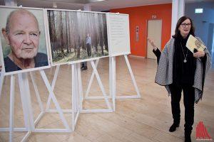 """Susanne Anger von der Initiative """"Mein Erbe tut Gutes."""" kennt zu jedem Prominenten eine spannende Geschichte. (Foto: mb)"""