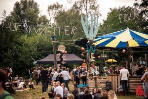 Von der Kuhwiese zur Eventlocation: Das Festival am Maikotten unter freiem Himmel. (Foto: sg)