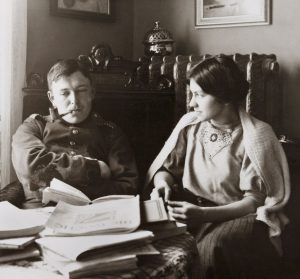 August Macke und Elisabeth Gerhardt, 1908. (Foto: LWL)