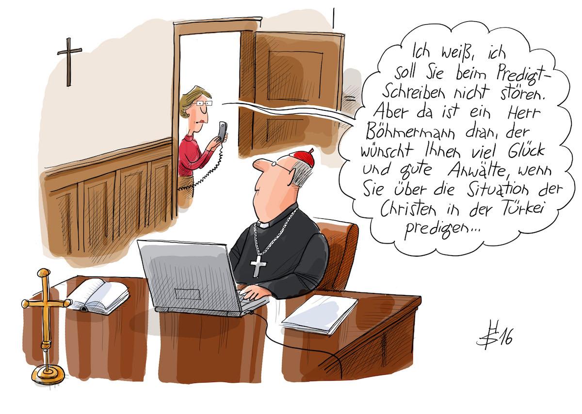 (Zeichnung: Heiko Sakurai / Bistum Münster)
