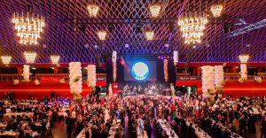 In festlichem Glanz wird die Halle Münsterland zum 50. Ball des Sports erstrahlen. (Foto: Peter Leßmann)
