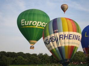 Faszinierende Aussichten über die Heimat aus der Vogelperspektive. (Foto: Skytours Ballooning GmbH)