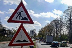 In den nächsten Tagen wird unter anderem an der Hafenstraße und der Grevener Straße gebaut.(Archivbild: Tanja Sollwedel)