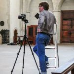 Martin Lohoff fotografiert in Münsters Dom. (Foto: privat)
