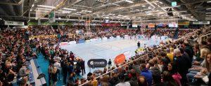 Den ersten Platz verteidigt, vor 3000 Zuschauern. (Foto: Markus Holtrichter/ WWU BASKETS)