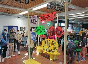 Die Ausstellung im Stadtteilhaus Lorenz-Süd ist noch bis zum 19. November zu sehen. (Foto: Stadt Münster)
