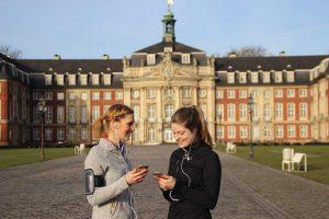 Große Studie zur Nutzung von Fitness-Apps an der Universität Münster. (Foto: Lena Busch)