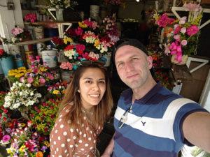 Daniel Schaschek war mit seiner Frau Cynthia in Mexiko. Von dort nach Hause zu fliegen, gestaltete sich schwierig. (Foto: Daniel Schaschek)
