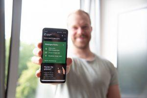 Seit knapp vier Wochen verfügbar: die Corona-Warn-App. (Foto: FH Münster/Katharina Kipp)