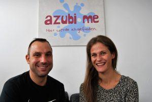 """Oliver E. Henschen und Sandra Tillmann von """"azubi-me"""" haben eine neue Online-Plattform ins Leben gerufen. (Foto: Pressefoto)"""