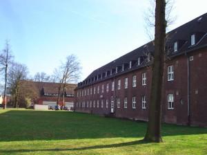 Bis zur Fertiggestellung am alten Pulverschuppen sollen Bereiche der York-Kaserne als Erstaufnahmeeinrichtung für Flüchtlinge genutzt werden. (Foto: Stadt Münster)