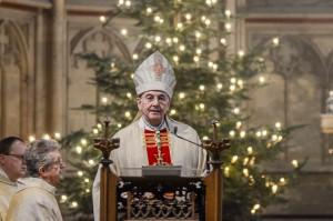 Bischof Genn bei der Silvesterpredigt. (Foto: Bistum Münster)