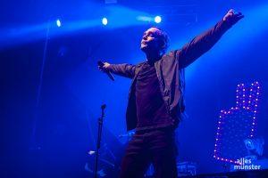 """Bosse spielte auch Songs des neuen Albums """"Alles ist jetzt"""". (Foto: Stephan Günther)"""
