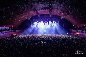 Gut 6000 Fans sahen Bosse am Wochenende in der Halle Münsterland. (Foto: Stephan Günther)
