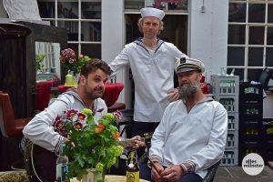 Die drei Shantys 2019 beim 35-jährigen Jubiläum des Kleinen Bühnenbodens. (Archivbild: Tessa-Viola Kloep)
