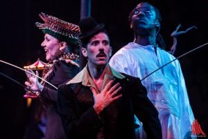 """Das Ensemble der Show """"Quilombo"""" entführte die Zuschauer in eine sinnliche Welt voller Akrobatik und Magie. (Foto: sg)"""