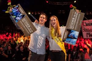 Die frischgebackenen Mister & Miss Bullenball 2015: Franziska Hülsbusch und Jens Kortmann. (Foto: sg)