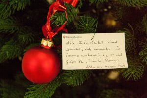 Wünsche zu Weihnnachten (Foto: Clemenshospital)