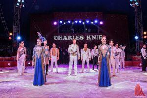 Show und Glamour im Zirkus Charles Knie. (Foto: Redaktion)